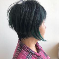 外国人風 エアリー 大人かわいい ショート ヘアスタイルや髪型の写真・画像