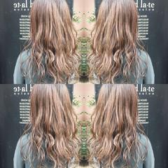 セミロング ナチュラル 透明感カラー 透明感 ヘアスタイルや髪型の写真・画像