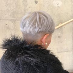 マッシュ ショート 外国人風 モード ヘアスタイルや髪型の写真・画像