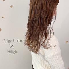 ハイライト 大人かわいい ロング 大人ハイライト ヘアスタイルや髪型の写真・画像