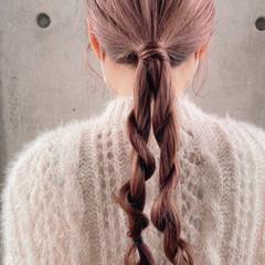 ハイトーン ミルクティー ナチュラル 艶髪 ヘアスタイルや髪型の写真・画像