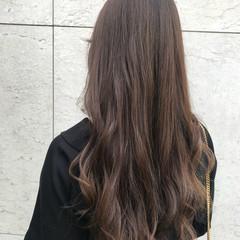 ロング ウェーブ エレガント 上品 ヘアスタイルや髪型の写真・画像