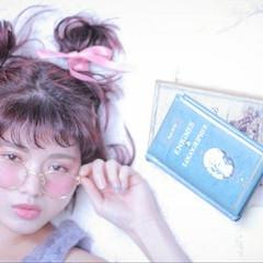 ボブ メッシーバン 簡単ヘアアレンジ 外国人風 ヘアスタイルや髪型の写真・画像