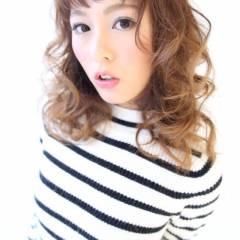 秋 モード ナチュラル セミロング ヘアスタイルや髪型の写真・画像