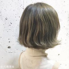 アッシュベージュ 抜け感 外国人風 ガーリー ヘアスタイルや髪型の写真・画像
