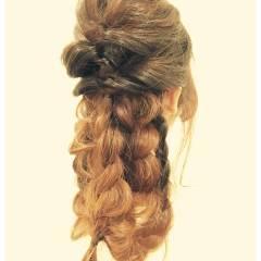 ルーズ フェミニン ナチュラル ゆるふわ ヘアスタイルや髪型の写真・画像
