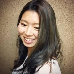 渋谷系 愛され セミロング モテ髪 ヘアスタイルや髪型の写真・画像