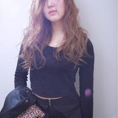 外国人風カラー グラデーションカラー ロング アッシュ ヘアスタイルや髪型の写真・画像