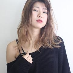 ハロウィン モード セミロング デート ヘアスタイルや髪型の写真・画像