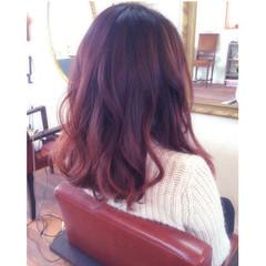 大人かわいい ピンク ゆるふわ ブリーチ ヘアスタイルや髪型の写真・画像
