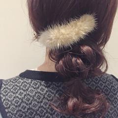 ショート 簡単ヘアアレンジ ミディアム 大人女子 ヘアスタイルや髪型の写真・画像