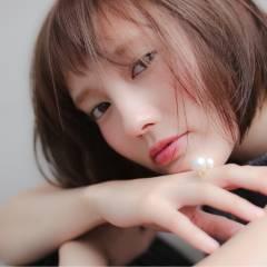 ボブ グラデーションカラー 外国人風 大人かわいい ヘアスタイルや髪型の写真・画像