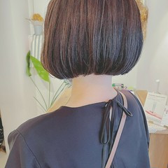 アンニュイほつれヘア ボブ 秋 大人かわいい ヘアスタイルや髪型の写真・画像
