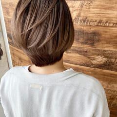 ショート コントラストハイライト ベリーショート ハイライト ヘアスタイルや髪型の写真・画像