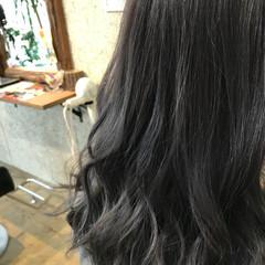 グレージュ ストリート ヘアアレンジ アッシュグレージュ ヘアスタイルや髪型の写真・画像