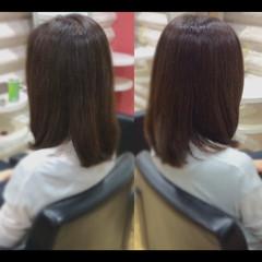 ナチュラル 髪質改善トリートメント 社会人の味方 髪質改善 ヘアスタイルや髪型の写真・画像