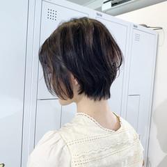 ショートヘア 小顔ショート ハンサムショート ショート ヘアスタイルや髪型の写真・画像