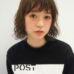 フェミニン ゆるふわ ボブ モテ髪 ヘアスタイルや髪型の写真・画像
