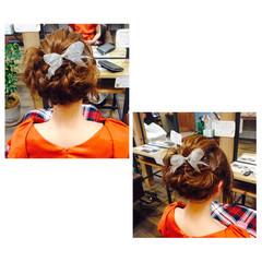 ロング ヘアアレンジ 大人かわいい ハイライト ヘアスタイルや髪型の写真・画像