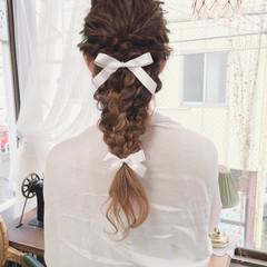 アッシュ 結婚式 ヘアアレンジ ロング ヘアスタイルや髪型の写真・画像