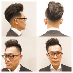 外国人風 かっこいい ボーイッシュ ショート ヘアスタイルや髪型の写真・画像