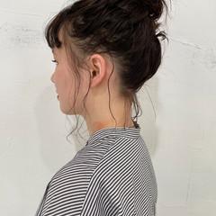 ボブ パーマボブ ゆるふわパーマ 簡単ヘアアレンジ ヘアスタイルや髪型の写真・画像