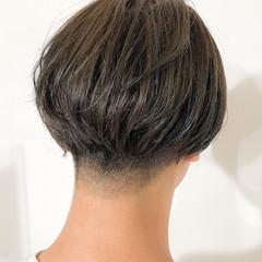 メンズ オリーブアッシュ ショート メンズスタイル ヘアスタイルや髪型の写真・画像