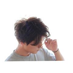 モテ髪 ストリート ボーイッシュ マッシュ ヘアスタイルや髪型の写真・画像