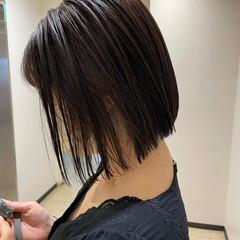 ナチュラル ボブ ショートボブ ショートヘア ヘアスタイルや髪型の写真・画像
