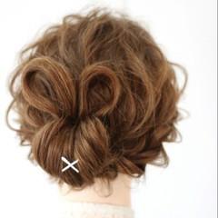 アップスタイル ゆるふわ 外国人風 編み込み ヘアスタイルや髪型の写真・画像