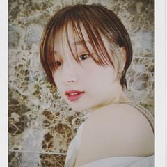 ショートヘア モード ショートボブ ショート ヘアスタイルや髪型の写真・画像