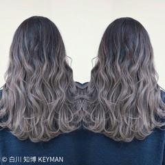 ロング ハイライト 外国人風 ニュアンス ヘアスタイルや髪型の写真・画像