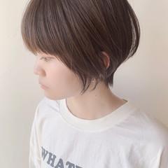 ハイライト ショートヘア ベリーショート 透明感カラー ヘアスタイルや髪型の写真・画像