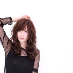 セミロング ミディアム 前髪あり ゆるふわ ヘアスタイルや髪型の写真・画像