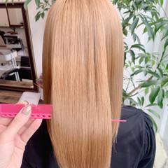 髪質改善カラー 髪質改善トリートメント ナチュラル ロングヘア ヘアスタイルや髪型の写真・画像