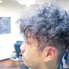 ストリート ボブ ショート メンズ ヘアスタイルや髪型の写真・画像