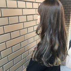 モード ロング ブリーチ ヘアスタイルや髪型の写真・画像