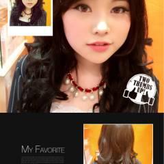 ガーリー かわいい 春 ストリート ヘアスタイルや髪型の写真・画像