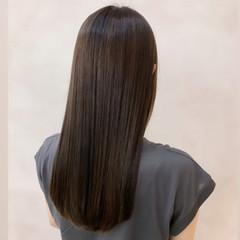 髪質改善トリートメント ナチュラル ロング ストレート ヘアスタイルや髪型の写真・画像