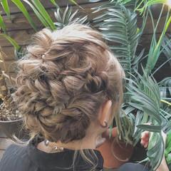 結婚式 デート ヘアアレンジ パーティ ヘアスタイルや髪型の写真・画像