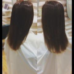 髪質改善トリートメント ロング 髪質改善カラー 社会人の味方 ヘアスタイルや髪型の写真・画像