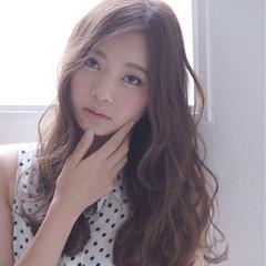 大人女子 ロング かっこいい ナチュラル ヘアスタイルや髪型の写真・画像