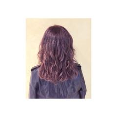 外国人風 アッシュ ストリート ミディアム ヘアスタイルや髪型の写真・画像
