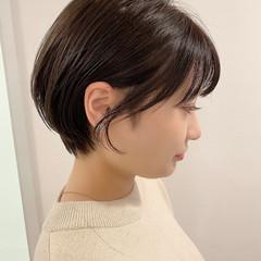 ショートボブ ショートヘア デート ショート ヘアスタイルや髪型の写真・画像