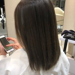 ブラウンベージュ ヌーディーベージュ ナチュラルベージュ ミルクティーベージュ ヘアスタイルや髪型の写真・画像