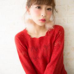 外国人風 ショート 簡単ヘアアレンジ グレージュ ヘアスタイルや髪型の写真・画像