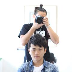 モテ髪 ナチュラル ボーイッシュ メンズ ヘアスタイルや髪型の写真・画像