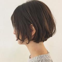 パーマ リラックス ショート ボブ ヘアスタイルや髪型の写真・画像