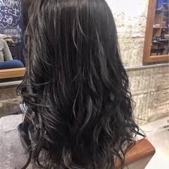 上品 ロング 外国人風カラー グレージュ ヘアスタイルや髪型の写真・画像