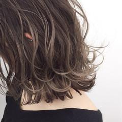 ナチュラル 外国人風 似合わせ バレイヤージュ ヘアスタイルや髪型の写真・画像